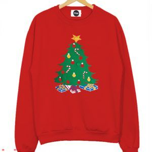 Christmas Tree Sweatshirt Men And Women
