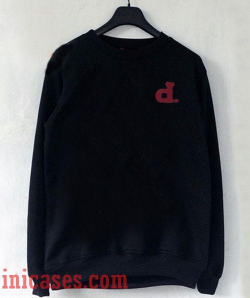 D alphabet Sweatshirt Men And Women