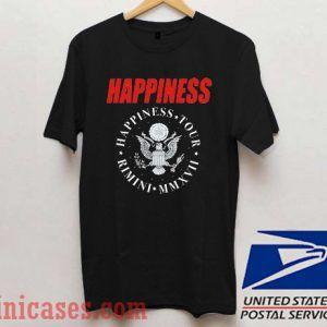 Happiness Tour Rimini T shirt