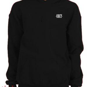 Obey Black Hoodie pullover