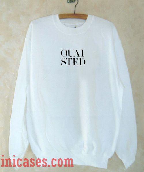 Ouai Sted Sweatshirt Men And Women