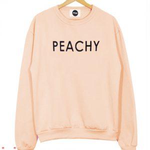 Peachy peach Sweatshirt Men And Women