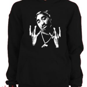 Tupac Shakur Hoodie pullover