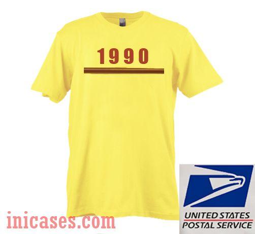 1990 Yellow T shirt