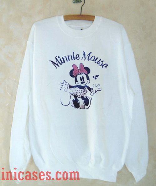 Minnie Mouse Sweatshirt Men And Women