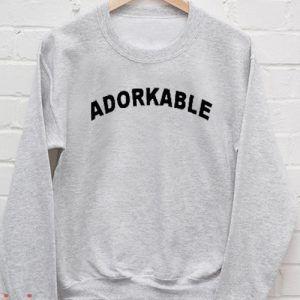 Adorkable Sweatshirt Men And Women
