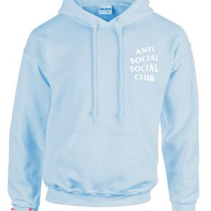 Anti Social Social Club Blue Hoodie pullover