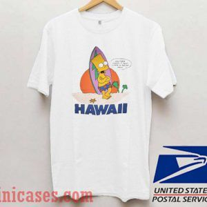 Bart Simpson Hawaii T shirt