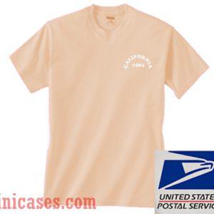 California 1984 Color T shirt