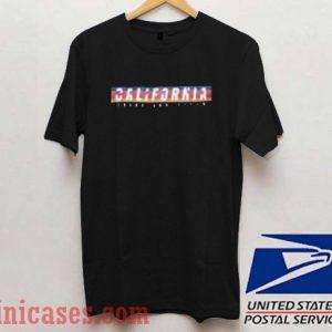 California Rainbow T shirt