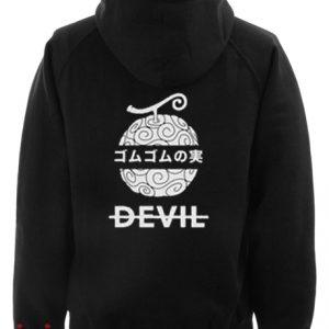 Gum Gum Devil Hoodie pullover