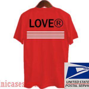 Lover Stripe T shirt