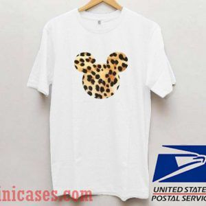 Mickey Mouse Leopard T shirt