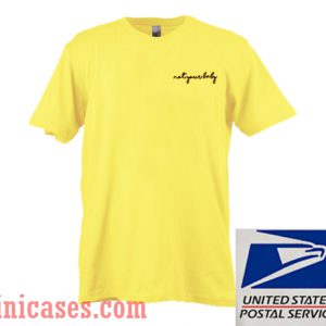 Not Your Baby Yellow T shirt