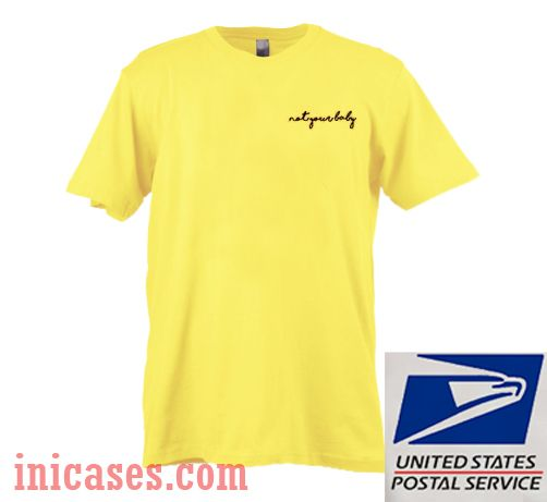 889a5f03 Not Your Baby Yellow T shirt