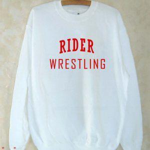 Rider Wrestling Sweatshirt Men And Women
