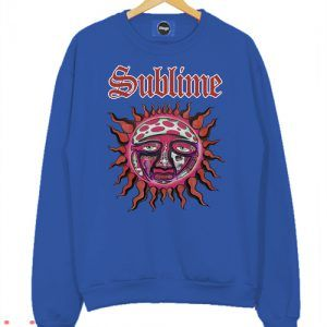 Sublime Logo Blue Sweatshirt Men And Women