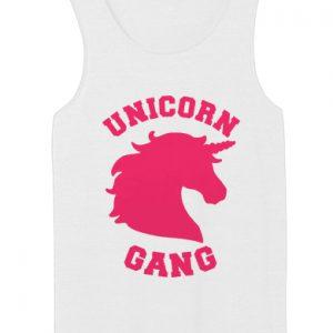 Unicorn Gang tank top unisex