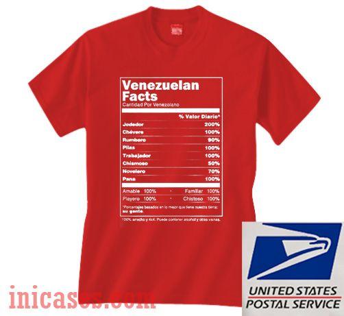 Venezuelan Facts T shirt