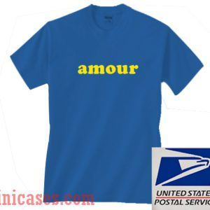 Amour Blue T shirt