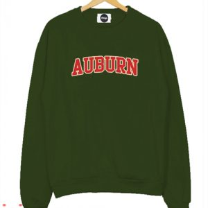 Auburn Green Army Sweatshirt Men And Women