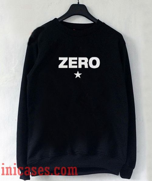 Zero Sweatshirt Men And Women