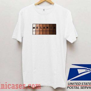 Melanin Tone Color T shirt