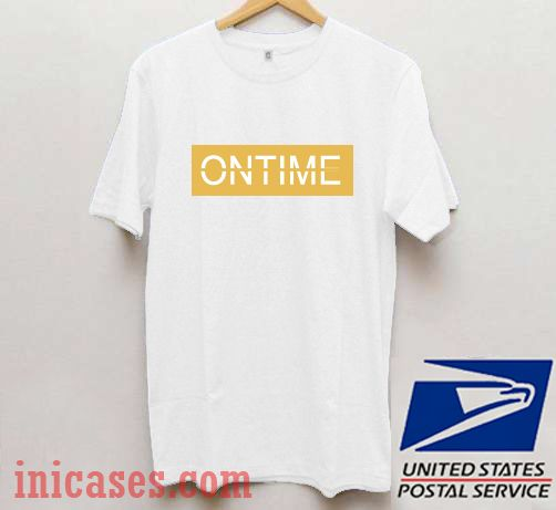 Ontime Yellow T shirt
