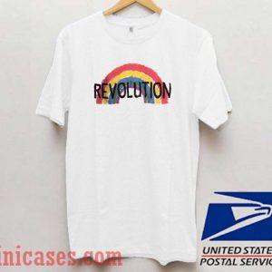 Revolution Rainbow T shirt