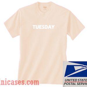 Tuesday Cream T shirt