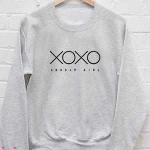 Xoxo Gossip Girl Sweatshirt Men And Women
