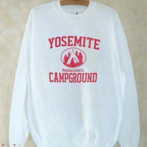 Yosemite Campground Sweatshirt Men And Women