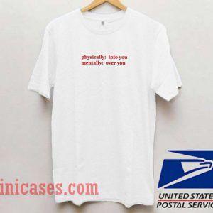 Sharp Love physically T shirt