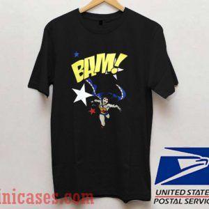 BAM Wonder Woman T shirt