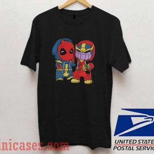Baby Deadpool and Baby Thanos T shirt