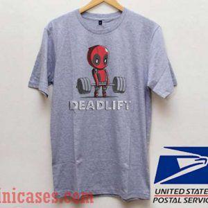 Deadpool Deadlift T shirt
