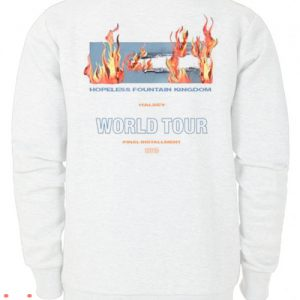 Hopeless Fountain Kingdom Halsey World Tour Sweatshirt Men And Women