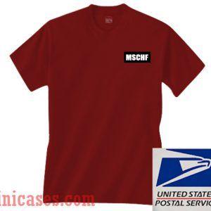 MSCHF Maroon T shirt