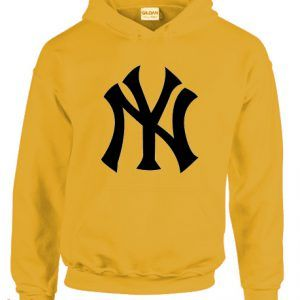 NY Logo Yellow Hoodie pullover