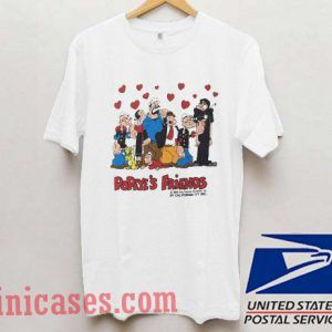 Popeye and Friends T shirt
