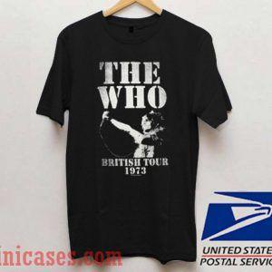 The Who British Tour 1973 T shirt