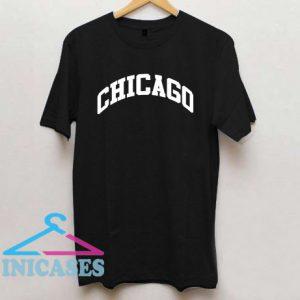 Black Chicago T shirt