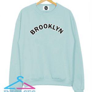 Brooklyn Baby blue Sweatshirt Men And Women