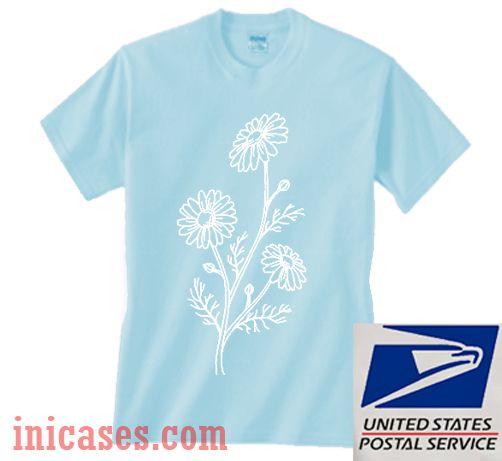 Chamomile Flower T shirt