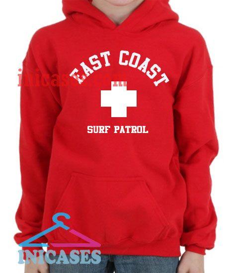 East Coast Surf Patrol Hoodie pullover