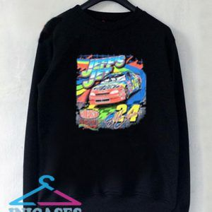 Jeff Gordon Nascar Black Sweatshirt Men And Women