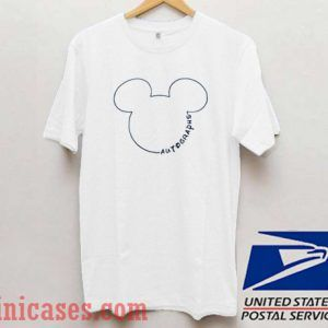 Mickey Mouse Autographs T shirt