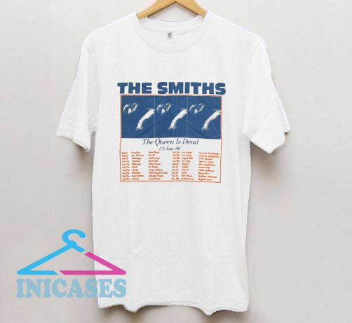 The Smiths US Tour 86 T shirt