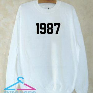 1987 Sweatshirt Men And Women