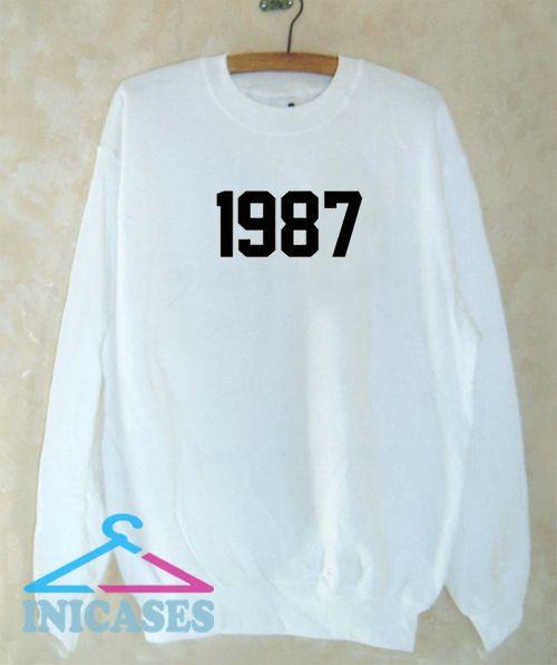 1987 Sweatshirt Men And Women